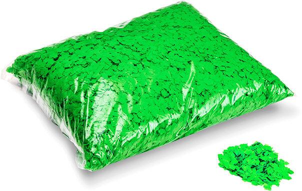 MagicFX Magic FX Powderfetti 6x6mm - Fluo Green 1kg - Confettis en poudre