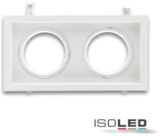 ISOLED Collerette d'encastrement rectangulaire orientable, AR111, limitant la luminance, 2 - Encastrés de plafond
