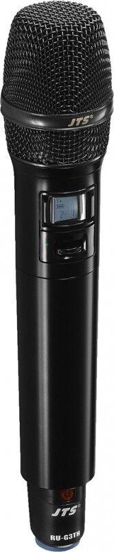 JTS RU-G3TH/5 Emetteur de poche UHF PLL avec capsule à condensateur - Composants individuels