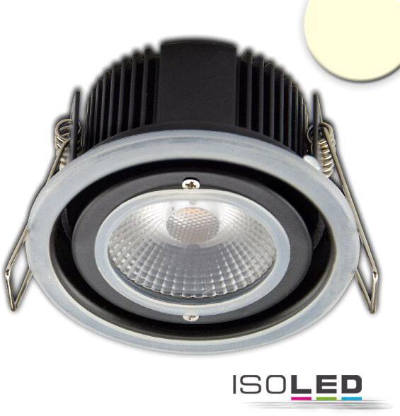 ISOLED Module LED encastrable gamme Sys-68, 10W, IP65, blanc chaud, gradable en DALI ou bouton - Luminaires encastrés