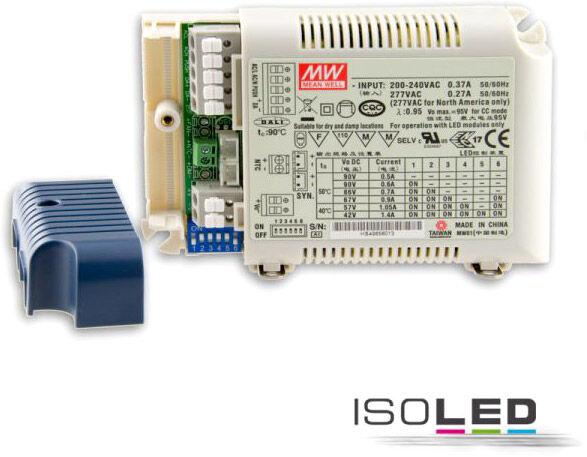 ISOLED Transfo. LED courant constant 500/600/700/900/1050/1400 mA, graduable par bouton poussoir - Accessoires divers