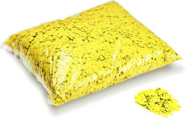 MagicFX Magic FX Powderfetti 6x6mm - Yellow 1kg - Confettis en poudre