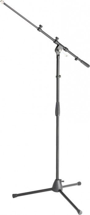 Adam Hall Stands S 6 B Pied Micro avec Perchette - Pieds de microphone