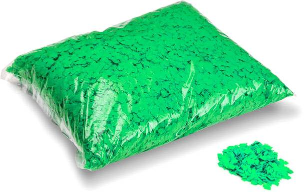 MagicFX Magic FX Powderfetti 6x6mm - Light Green 1kg - Confettis en poudre
