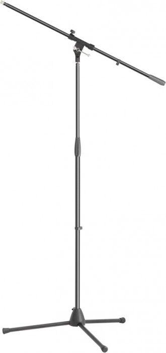 Adam Hall Stands S 5 B Pied Micro avec Perchette - Pieds de microphone