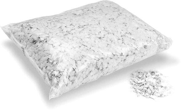 MagicFX Magic FX Powderfetti 6x6mm - White 1kg - Confettis en poudre