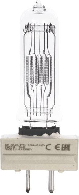 GE CP43 240V/2000W GY-16 400h 3200K - Lampes à décharge, socle G16