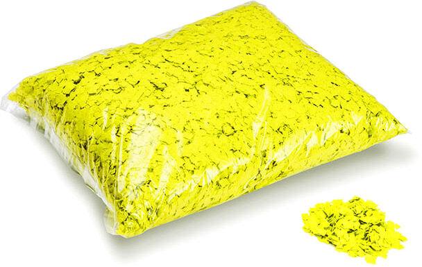 MagicFX Magic FX Powderfetti 6x6mm - Fluo Gelb 1kg - Confettis en poudre