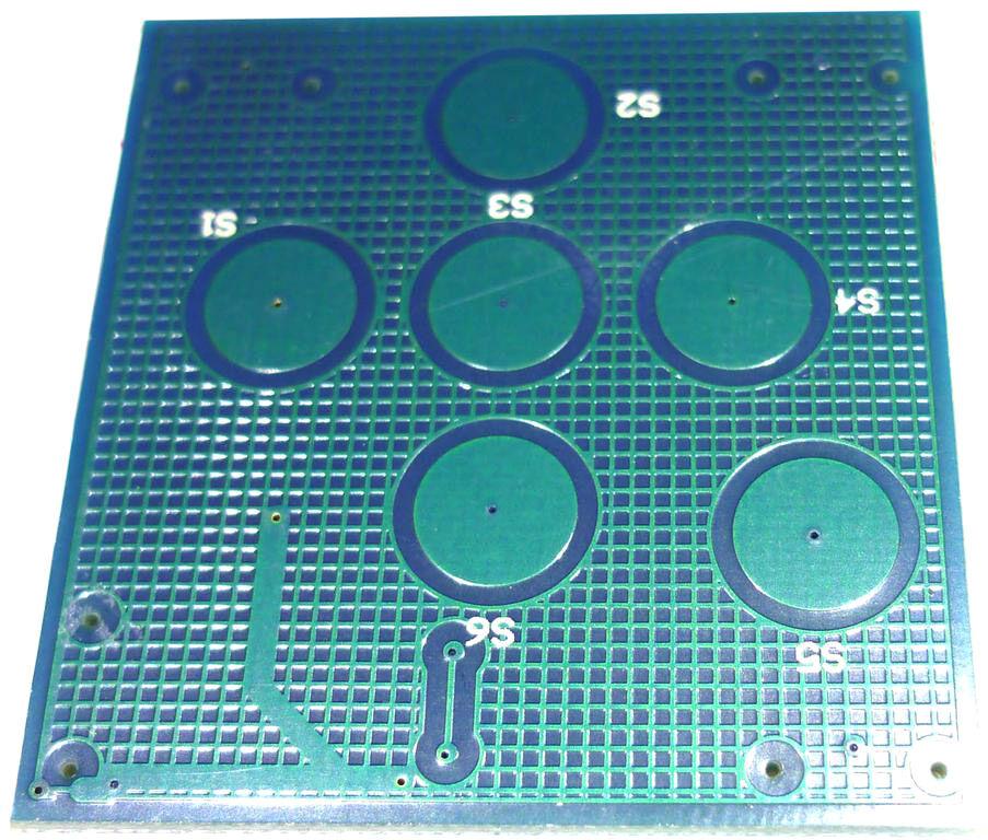 Ersatzteil PCB (Control Panel) PLS-5R(PCB0811-0-B)V2 - Pièces de rechange
