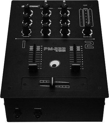 OMNITRONIC PM-222 2-channel DJ mixer - Tables de mixage DJ