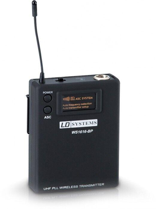 LD Systems Sweet SixTeen BP Émetteur Ceinture (Beltpack) - Composants individuels