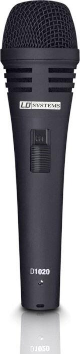 LD Systems D 1020 Micro Chant Dynamique avec Interrupteur - Microphones vocaux