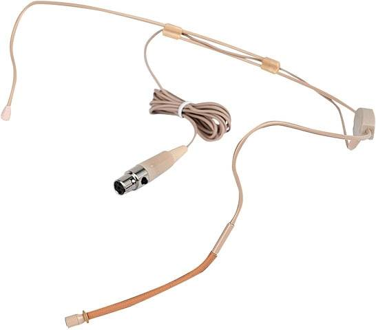 DAP-Audio EH-4 Head Microphone Skincolor Câble détachable - Casques o casques audio