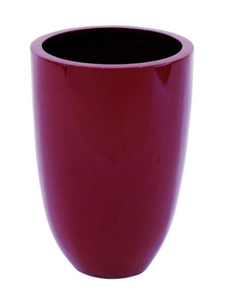 Europalms LEICHTSIN CUP-49, shiny-red - Pots en plastique