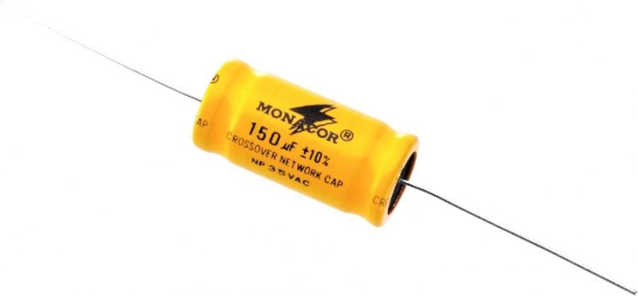 Monacor LSC-1500NP Condensateurs électrolytiques bipolaires 1,5-300 µF - Répartiteurs de fréquence/Pièces détachées