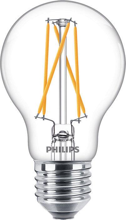 Philips Classic LEDBulb DT6.7-40W E27 CRI90 A60 CL - Lampes LED socle E27