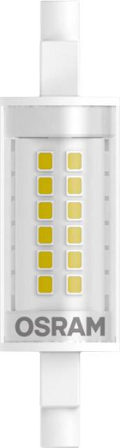 Osram LINE 78 CL 60 non-dim 6W/827 R7S - Lampes LED socle R7s