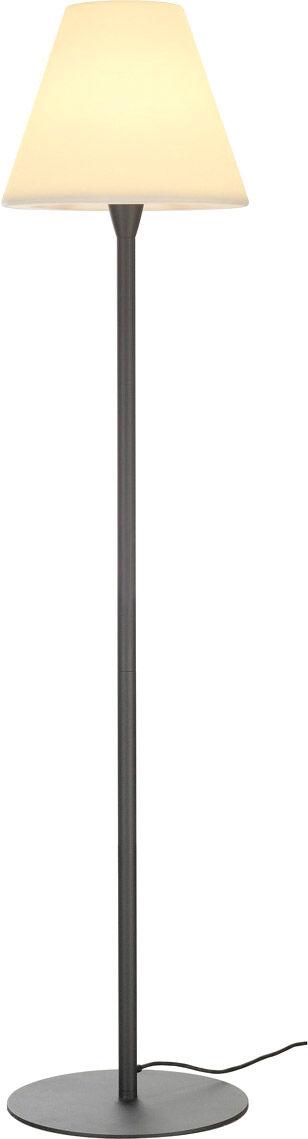SLV Lampadaire extérieur ADEGAN TC-(D,H,T,Q)SE, IP54, anthracite, max. 24W - Lampes d'ambiance, de table et sur pied