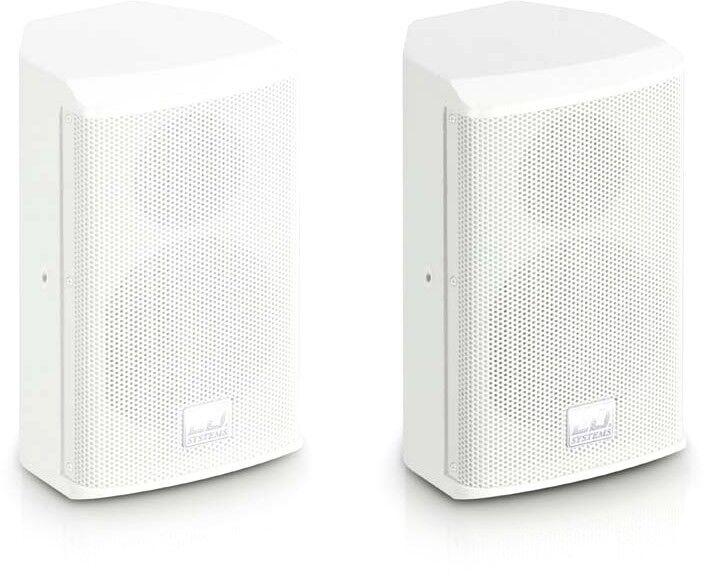 """LD Systems SAT 42 G2 W Enceinte d'Installation 4"""" passive blanche (paire) - Haut-parleurs d'installation"""