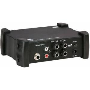 DAP-Audio AMP-104 Amplificateur pour casque, 4 canaux - Alimentations électrique - Publicité