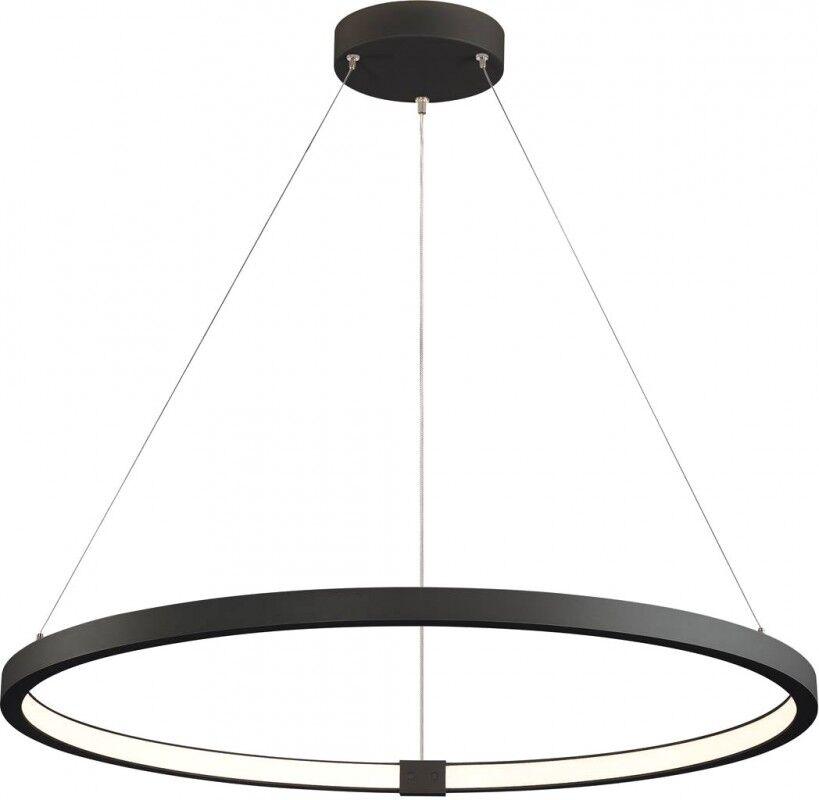 SLV ONE 80 DALI, suspension intérieure LED, noire, 3000/4000K - Lampes pendulaires