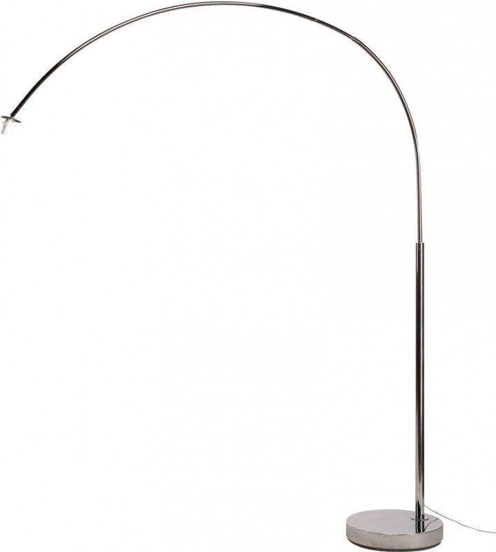 SLV FENDA BOW BASIS E27, chrome, max. 40W - Lampes d'ambiance, de table et sur pied