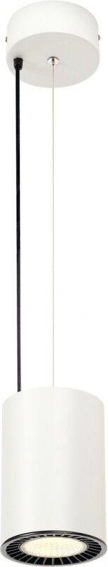 SLV SUPROS PD, suspension intérieure LED, ronde, blanche, 4000K, réflecteur 60°, CRI90, 3520lm - Lampes pendulaires