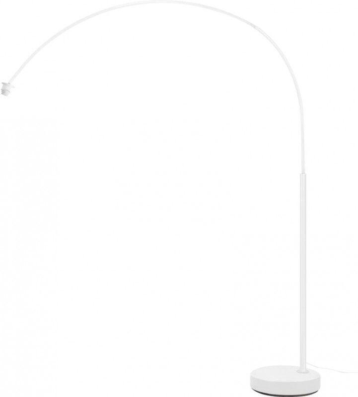SLV FENDA BOW BASIS E27, lampadaire intérieur blanc - Lampes d'ambiance, de table et sur pied