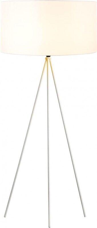 SLV FENDA pied de lampadaire II E27, lampadaire intérieur blanc sans - Lampes d'ambiance, de table et sur pied