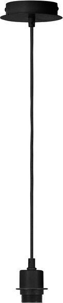 SLV Câble de suspension FENDA, A60, noir, sans diffuseur, max. 60W - Lampes pendulaires