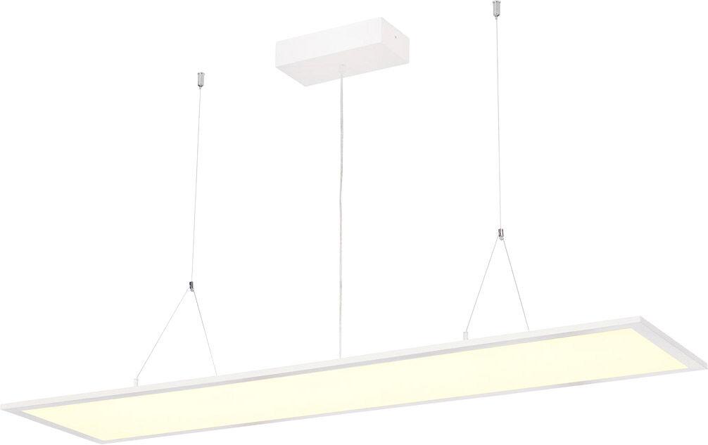SLV Suspension I-PENDANT PRO LED, 4000 K, blanc, L/l/H 123/29,5/1,3 cm, 35 - Lampes pendulaires