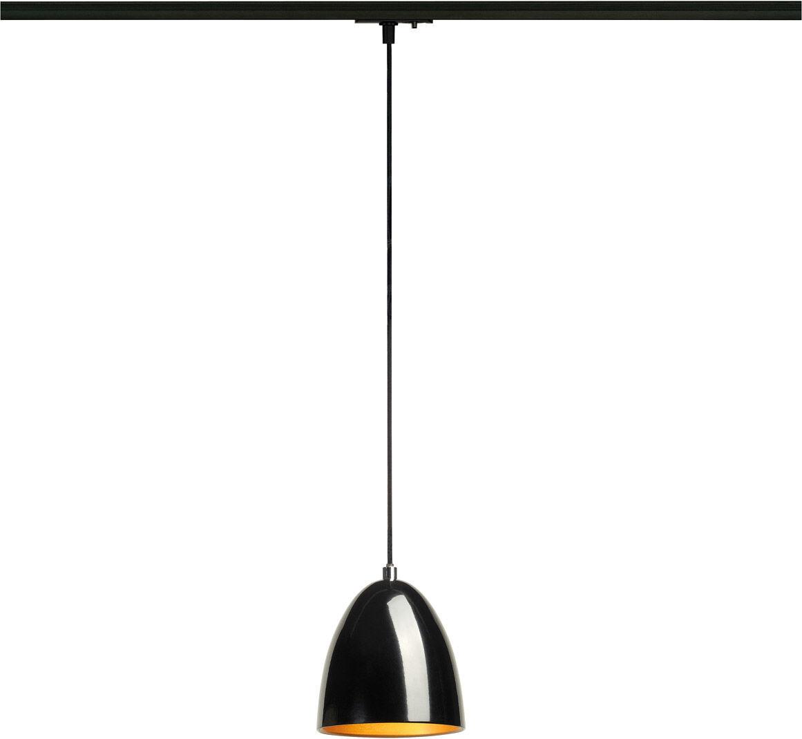 SLV Suspension PARA CONE 14 LED GU10 51 mm, rond, noir/doré, Ø/H 13,3/14, - Lampes pendulaires