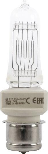 GE T17 FKF 230V/500W P-28-s 750h 2950K - Lampes pour socle spécial