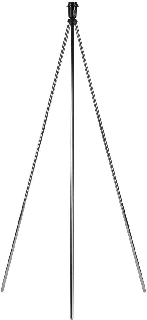 SLV Lampadaire FENDA A60, chrome, sans diffuseur, max. 40W - Lampes d'ambiance, de table et sur pied