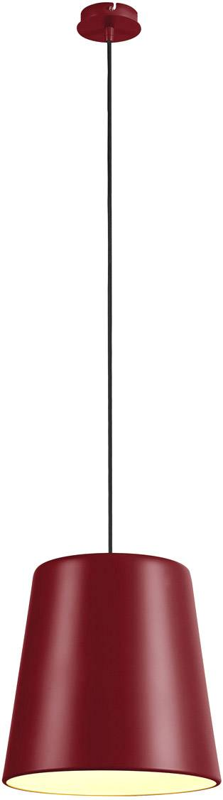 SLV Suspension TINTO, A60, bordeaux, max. 60 W - Lampes pendulaires