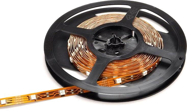 Inspilight LED Stripe - RGB - 150 SMD tri-color LEDs - Role 5 mtr. - Bandes LED