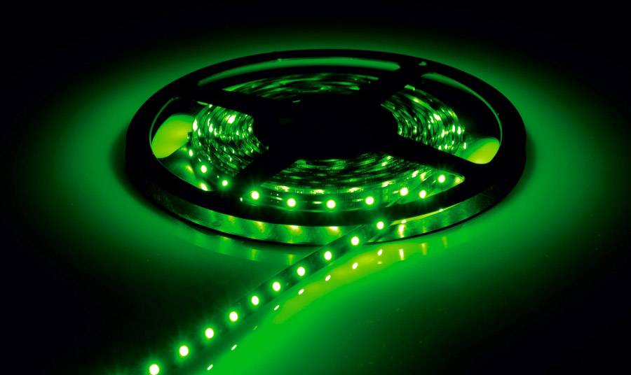 Inspilight LED Stripe - green - 300 LEDs - Role 5m - Bandes LED