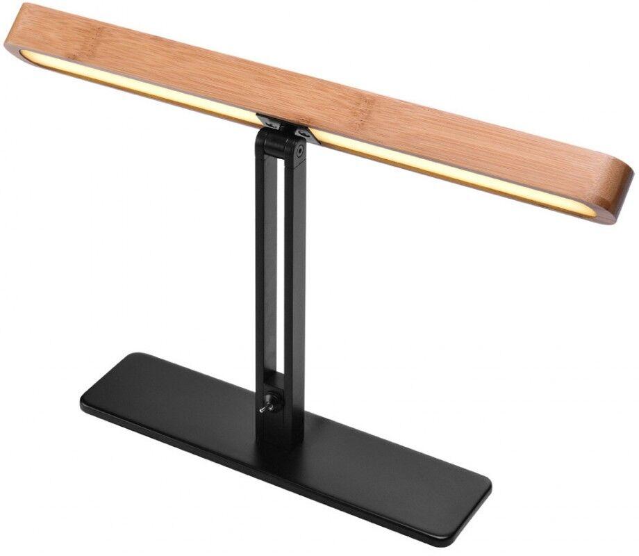 SLV Lampe de bureau VINCELLI D TL bambou, 2700K - Lampes d'ambiance, de table et sur pied