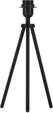 SLV Lampe de bureau FENDA pied de lampe, A60, noir, sans diffuseur, max. 4 - Lampes d'ambiance, de table et sur pied