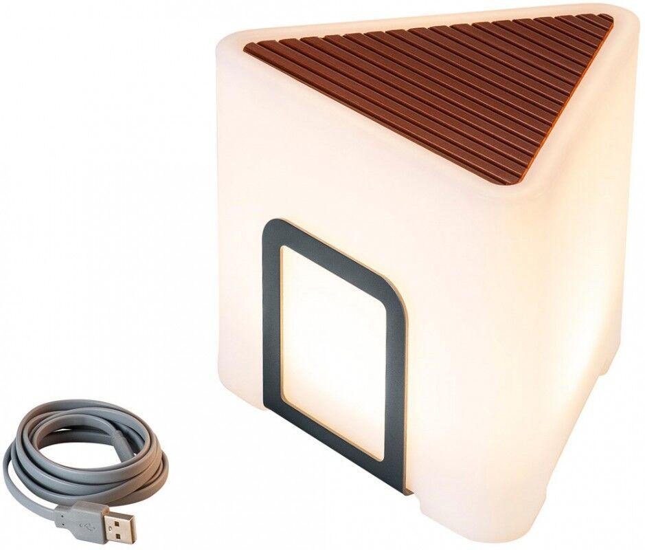 SLV Luminaire mobile sans fil KENGA 17 IP44 - Lampes d'ambiance, de table et sur pied