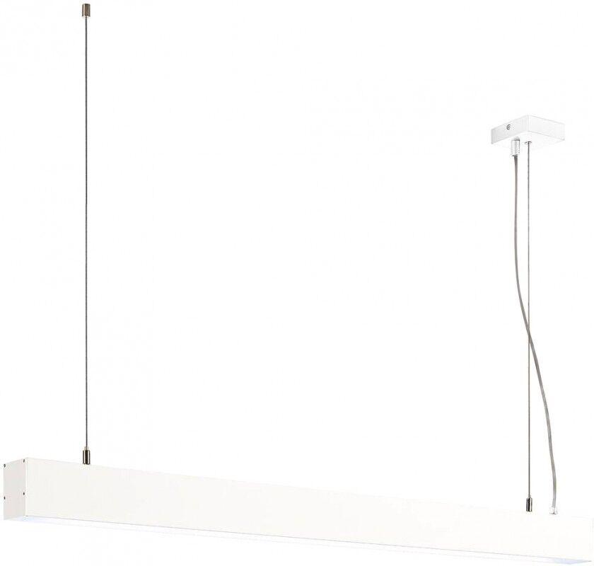 SLV Suspension GLENOS, blanc mat, 1m, 52W, 4000K - Lampes pendulaires