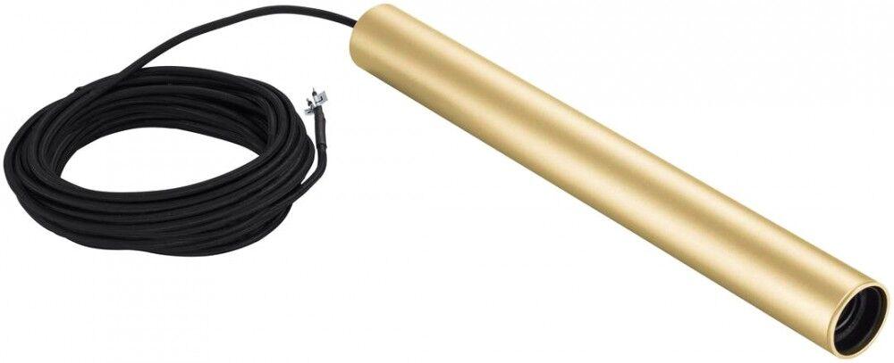 SLV Suspension d'intérieur FITU PD E27, laiton, câble de 5m à - Lampes pendulaires