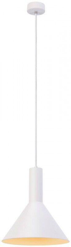 SLV Suspension d', intérieur PHELIA PD E27, blanc, max. 23W, 27,5cm - Lampes pendulaires