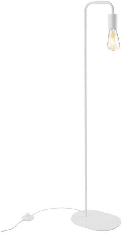 SLV Lampadaire d', intérieur FITU FL E27, blanc, max. 24W - Lampes d'ambiance, de table et sur pied