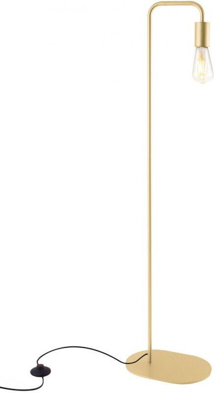 SLV Lampadaire d', intérieur FITU FL E27, or doux, max. 24W - Lampes d'ambiance, de table et sur pied