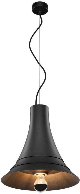 SLV Suspension d', intérieur BATO 35 PD noir, E27, max. 60W - Lampes pendulaires