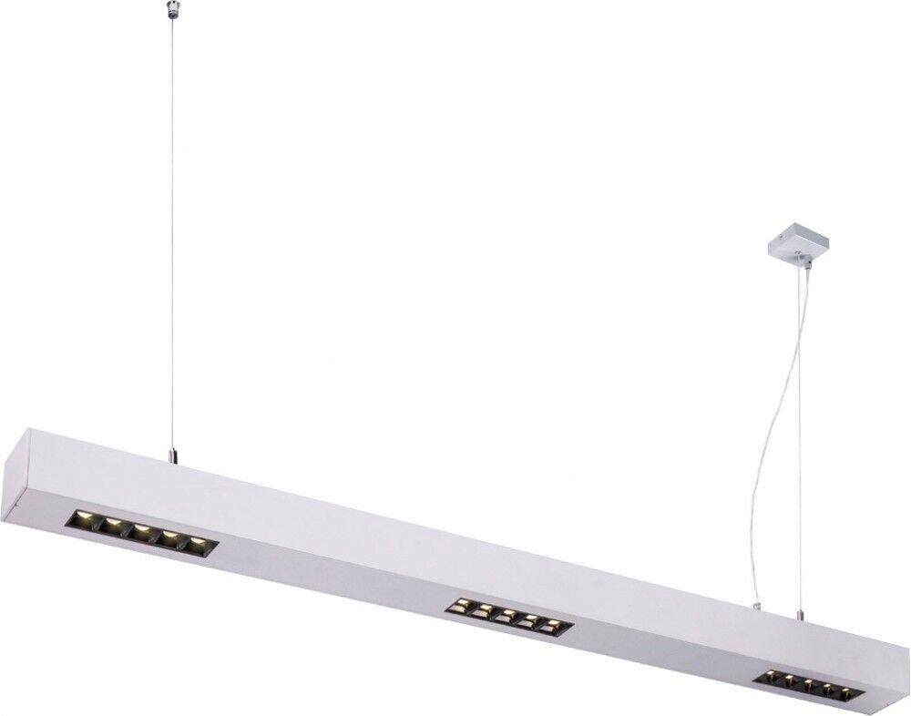 SLV Suspension d', intérieur Q-LINE PD LED, 1m, BAP, argent, 4000K - Lampes pendulaires