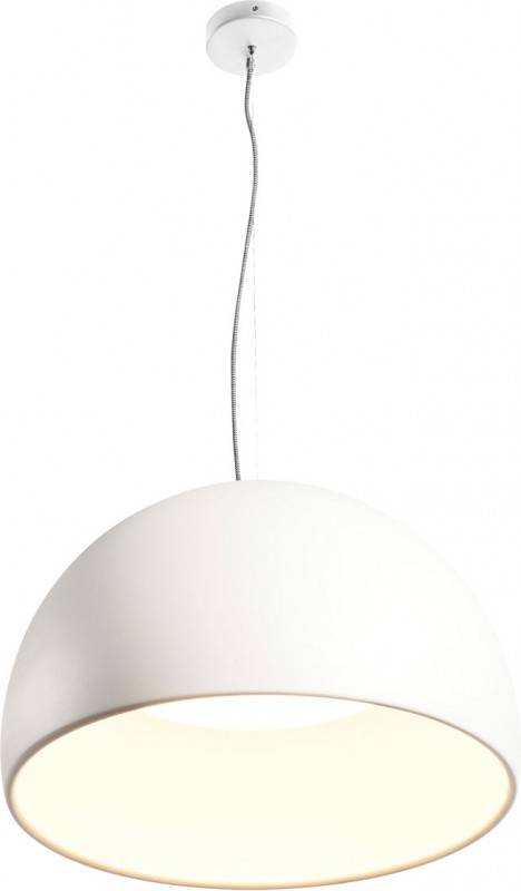 SLV Suspension BELA 60 LED, 3000K, blanc, 1850lm - Lampes pendulaires