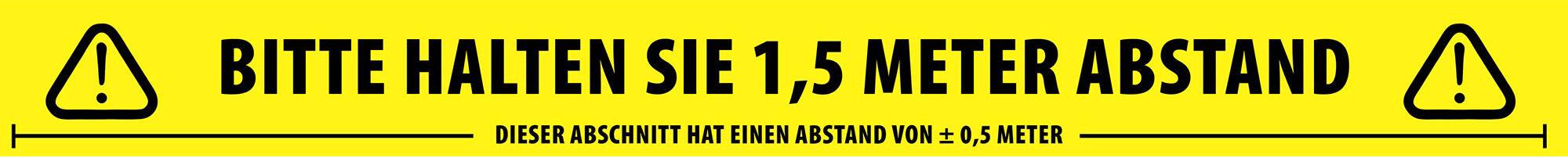 Adam Hall Accessories Ruban de séparation sociale allemand 50 mm x 66 m - Rubans adhésifs et plus encore
