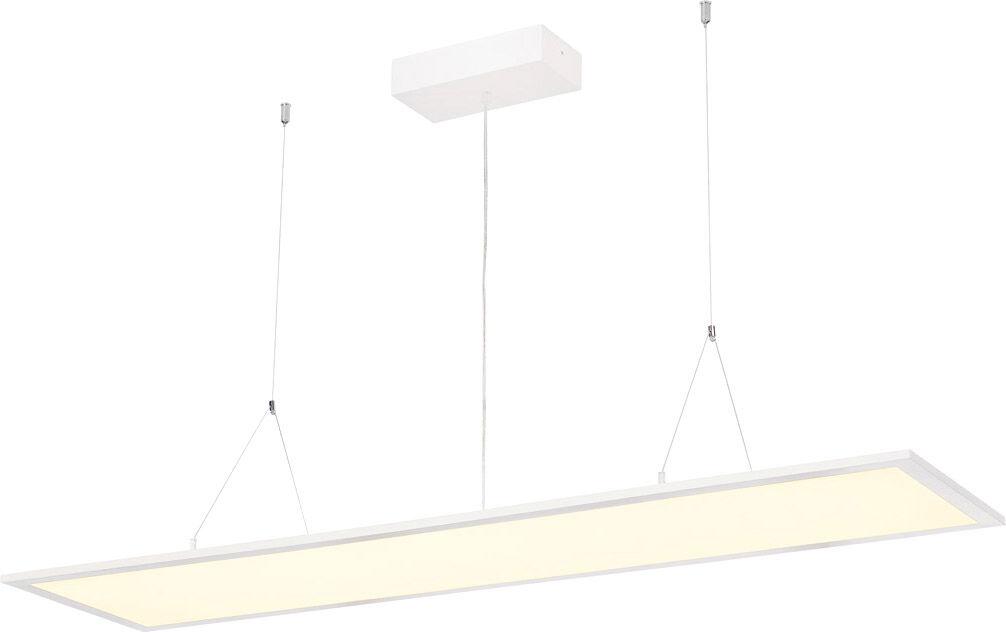 SLV Suspension I-PENDANT PRO LED, 3000 K, blanc, L/l/H 123/29,5/1,3 cm, 35 - Lampes pendulaires